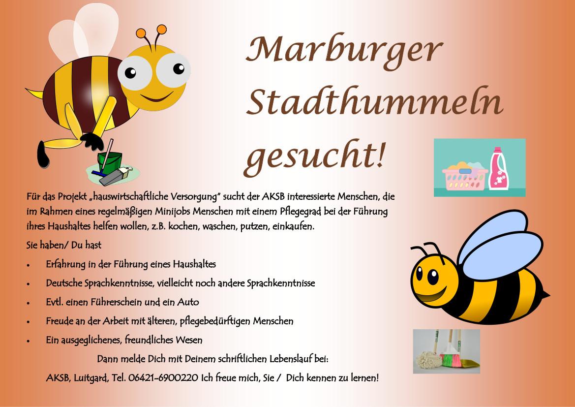 Flyer Stadthummeln